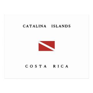 Catalina-Insel-Costa Postkarte