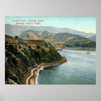 Catalina-Insel, die Bucht des Liebhabers, Poster