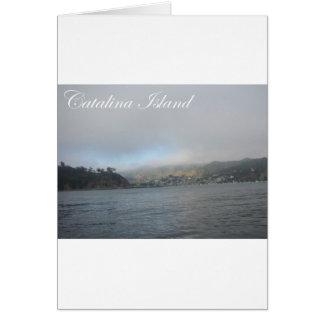 Catalina-Insel Karte