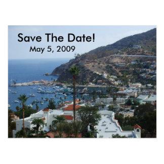 Catalina-Insel Postkarte