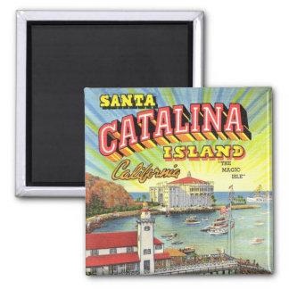Catalina-Inselmagnet Quadratischer Magnet
