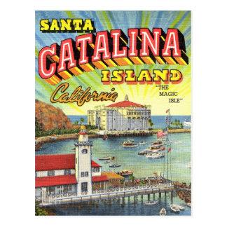 Catalina-Inselpostkarte Postkarte