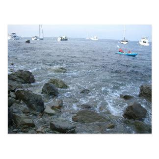 Catalina-Inselufer Postkarte