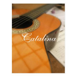 Catalina Postkarte