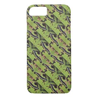 Catalpa Worms Camouflage-Wels-Fischen iPhone 7 Hülle