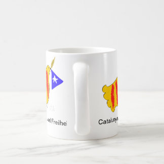 Catalunya Frieden und Freiheit Kaffeetassen