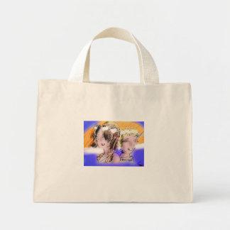 catatonic girlz Logo-Tasche Mini Stoffbeutel