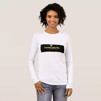 #catchy wie langes Hülsen-Shirt der Grippe (Frau) Langarm T-Shirt