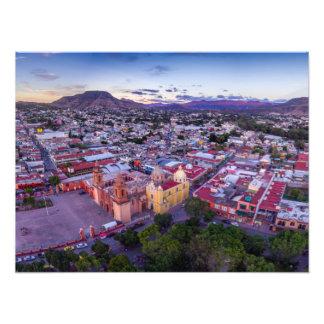 Catedral de Huajuapan Photographischer Druck