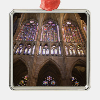 Catedral De Leon, InnenBuntglasfenster 2 Silbernes Ornament