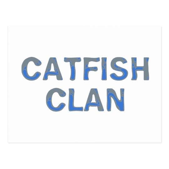 catfish Clan Postkarte