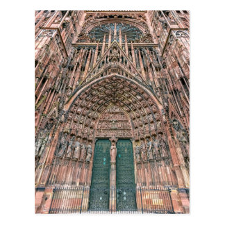 Cathedrale Notre-Dame, Straßburg, Frankreich Postkarte