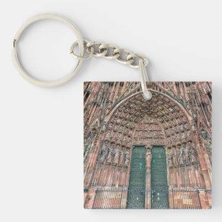 Cathedrale Notre-Dame, Straßburg, Frankreich Schlüsselanhänger