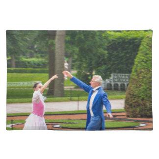 Catherine große Palast Tsarskoye Selo Tänzer Tischset