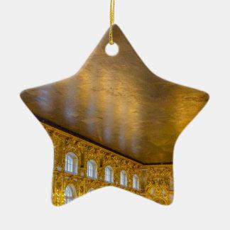 Catherine großer Palast Tsarskoye Selo Ball-Raum Keramik Ornament