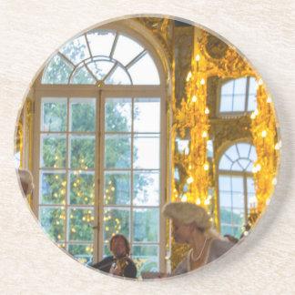 Catherine großer Palast Tsarskoye Selo Ball-Raum Untersetzer