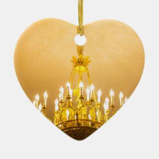 Catherine großer Palast Tsarskoye Selo Keramik Herz-Ornament