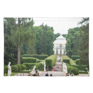Catherine großer Palast Tsarskoye Selo Stofftischset