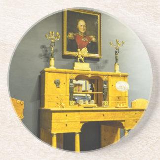 Catherine großes Palast Tsarskoye Selo Büro Getränkeuntersetzer