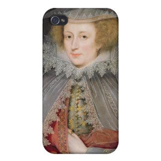 Catherine Killigrew Dame Jermyn 1614 Öl auf Wan iPhone 4 Case