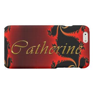 CATHERINE Name eingebrannte iPhone Abdeckung