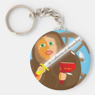 Catherine von Alexandria Schlüsselanhänger