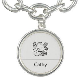 Cathy im Mayaanhänger Armband