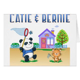 Catie und Bernie Karte