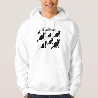 #catlover hoodie