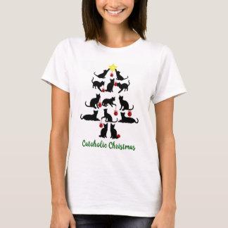 Catoholic WeihnachtsT - Shirt
