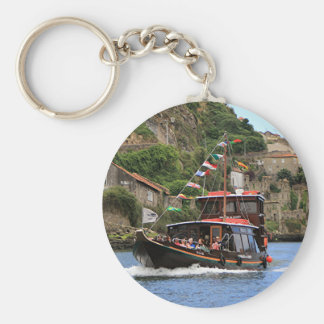 Catraios tun Duero-Boot, Porto, Portugal Schlüsselanhänger