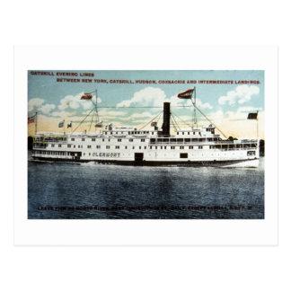 Catskill Abends-Linien - das Clermont Postkarte