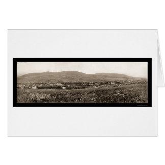 Catskill Mts Foto 1898 Jäger-NY Karte