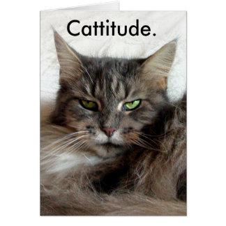 Cattitude Karte