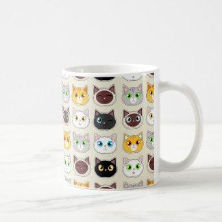 Cattitude Muster Kaffeetasse