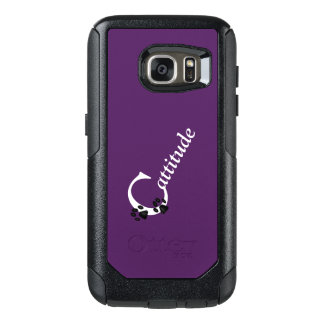 Cattitude OtterBox Samsung Galaxy S7 Hülle