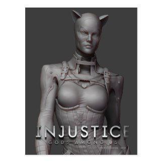 Catwoman-Alternative Postkarte