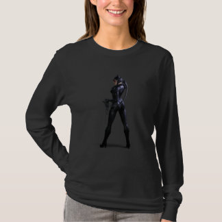 Catwoman-Farbe T-Shirt