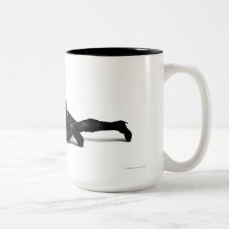 Catwoman-Lauern Zweifarbige Tasse