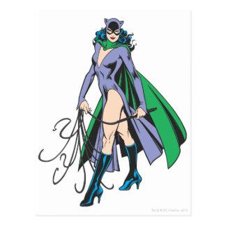 Catwoman-Stände Postkarte