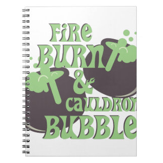 Cauldrom Blase Notizblock