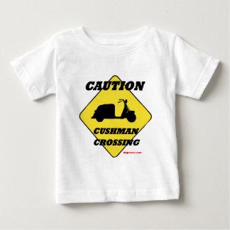 Caution_Cushman_Crossing Baby T-shirt