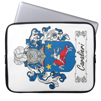 Cavalieri Familienwappen Laptop Schutzhüllen