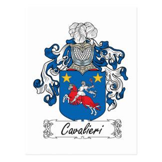 Cavalieri Familienwappen Postkarte