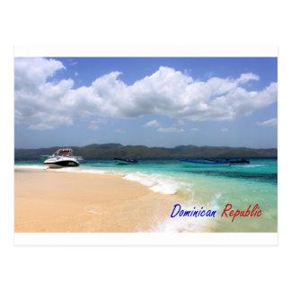 Cayo Arena-Dominikanische Republik-Postkarte 4 Postkarte