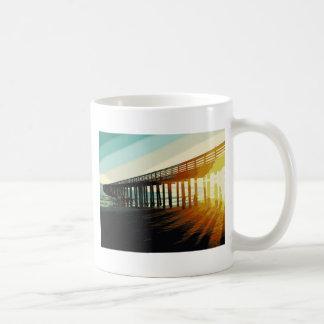 Cayucos Pier Kaffeetasse