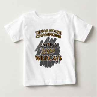 Cayuga-Wildkatzen-Texas-Staats-Meister 2009! Baby T-shirt