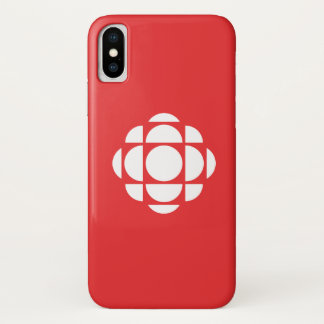 CBC/Radio-Canada Edelstein iPhone X Hülle