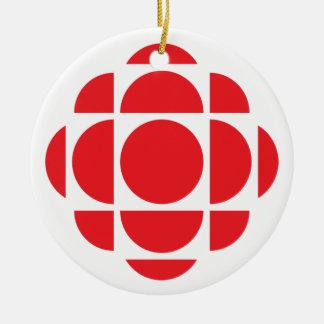 CBC/Radio-Canada Edelstein Keramik Ornament