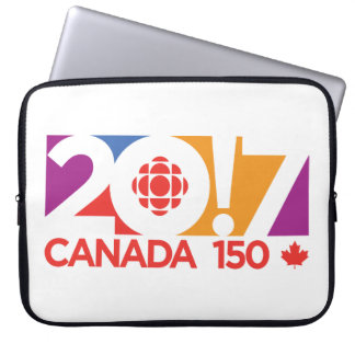 CBC/Radio-Canada Logo 2017 Laptop Sleeve